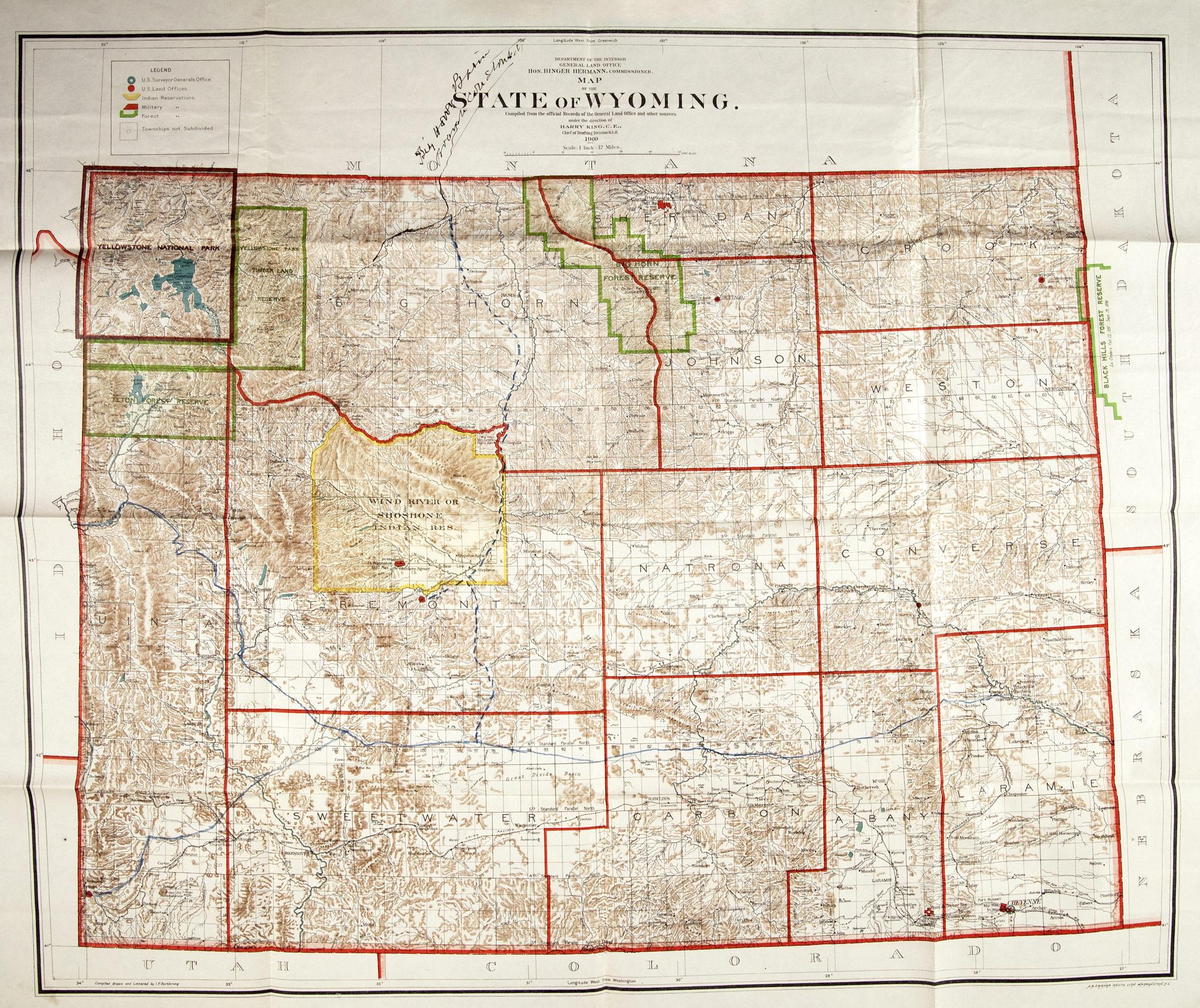 Development Of Nebraska And Wyoming  Environment