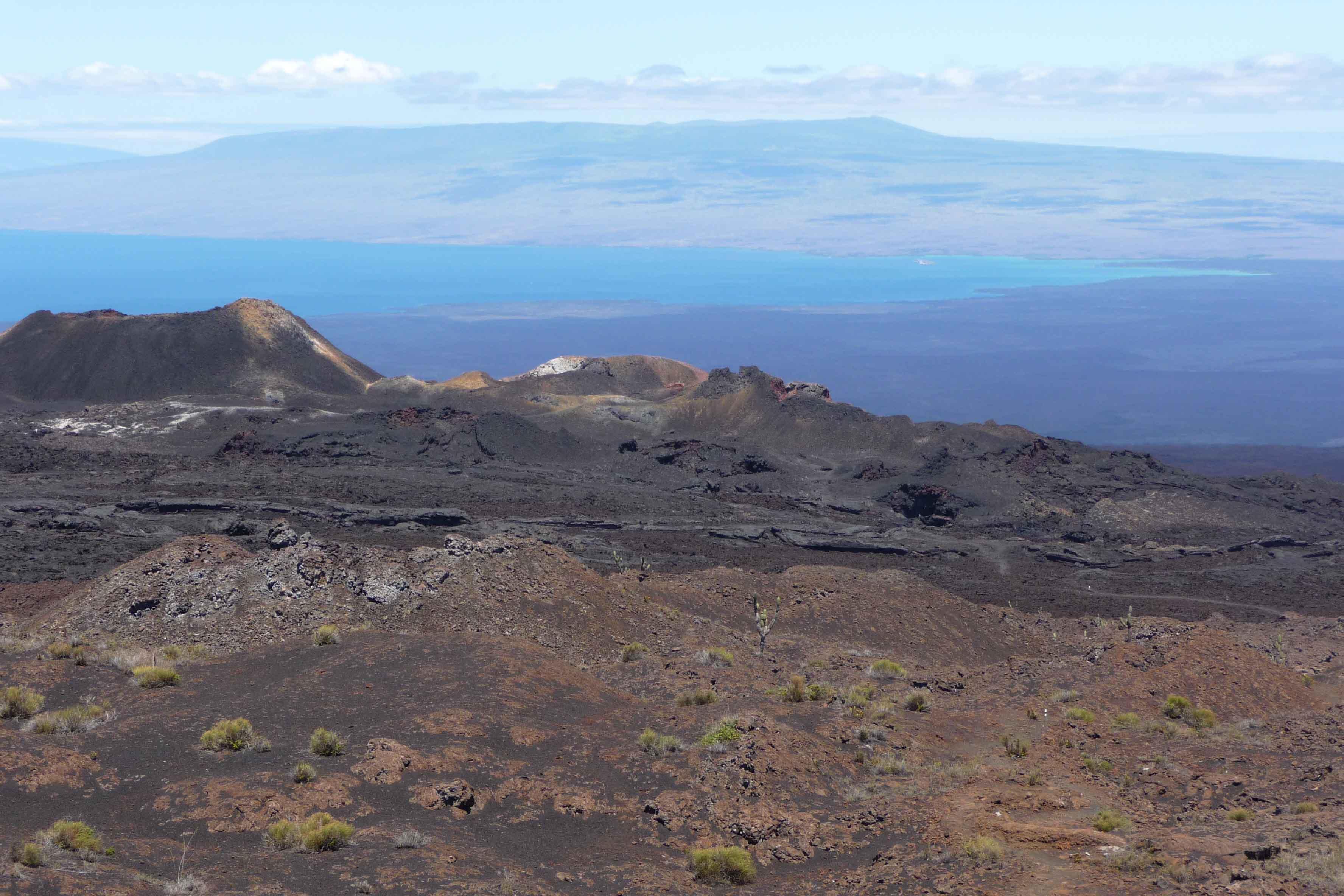 wilderness as an adjective latin american spanish environment vulcanic landscape sierra negra vulcano isabela island galaacutepagos
