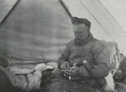 Expedition leader Johann Peter Koch, writing in his diary