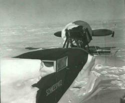 Propeller sled <i>Schneespatz</i>