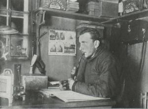 Alfred Wegener during his second expedition to Greenland