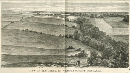 Image of Pastoral Scene at Elm Creek in Webster County, Nebraska (1880)