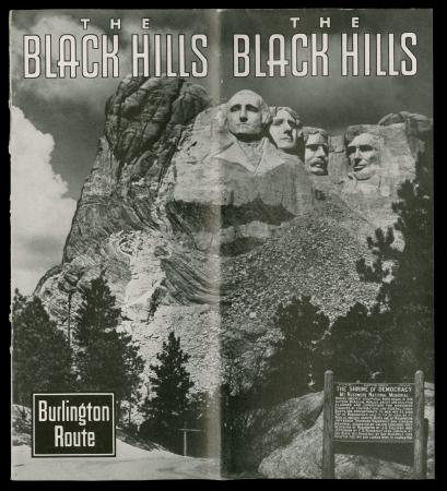 Mount Rushmore, cover of the book <i>The Black Hills</i> (1949)
