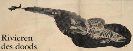 Illustration depicting a fish sceleton.