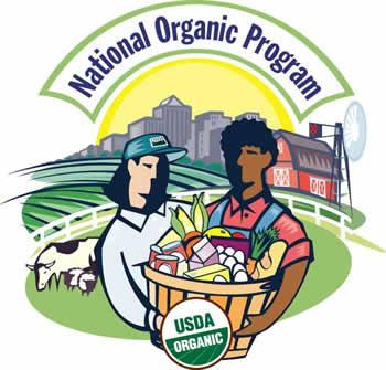 Logo of the National Organic program