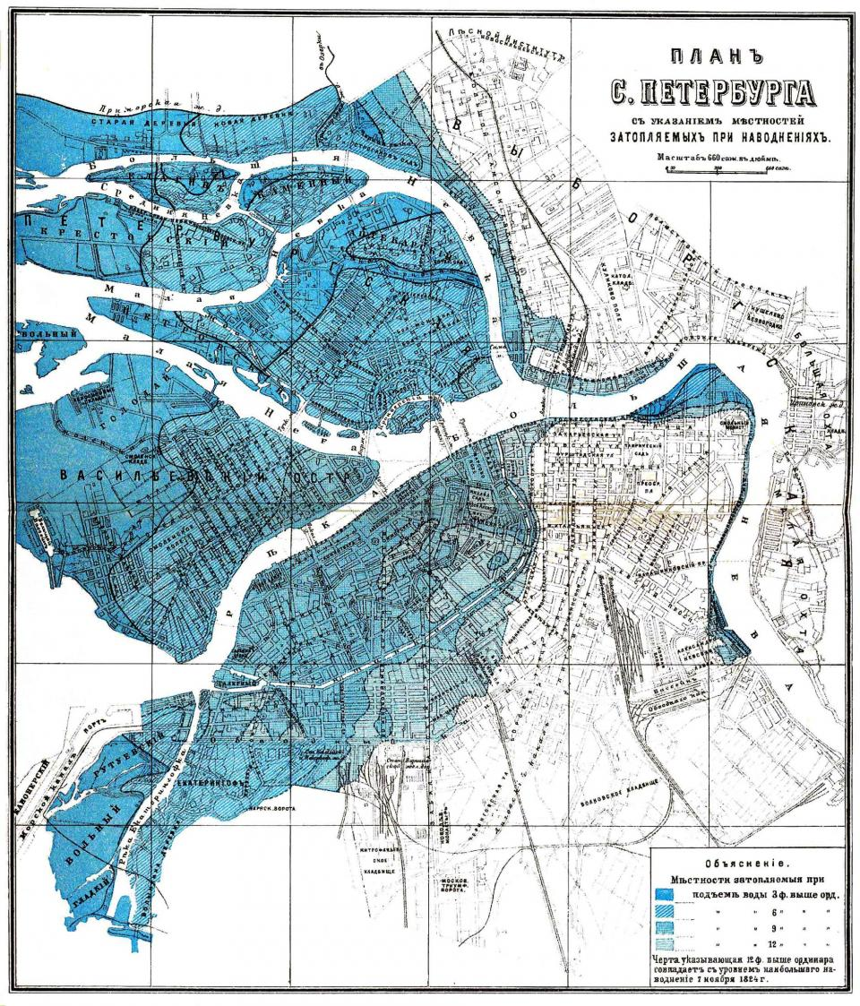 The St Petersburg Flood of 1824 Environment Society Portal