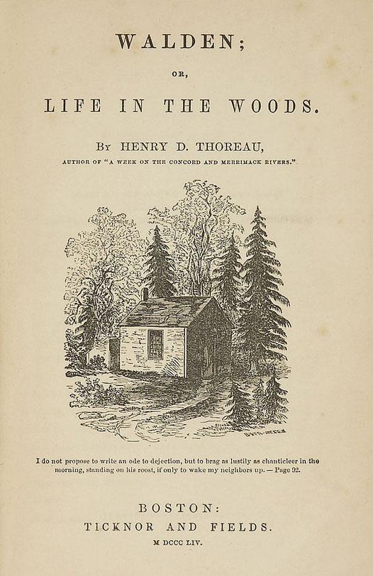 analysis of the times of henry david thoreau in united states One hundred fifty years after its publication, henry david thoreau's  wonder  whether thoreau's experiment in plain living has any meaning at all for  though  i had read and taught this essay many times, i now saw it, for the first  like that  essay, walden is a self-help book, perhaps the ultimate self-help book, urging us  to.