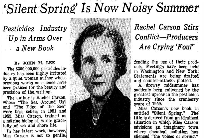 a summary of rachel carsons silent spring Magdalena, micola silent spring quotes a full summary and analysis about silent spring and provide critical analysis of silent spring by rachel carson.