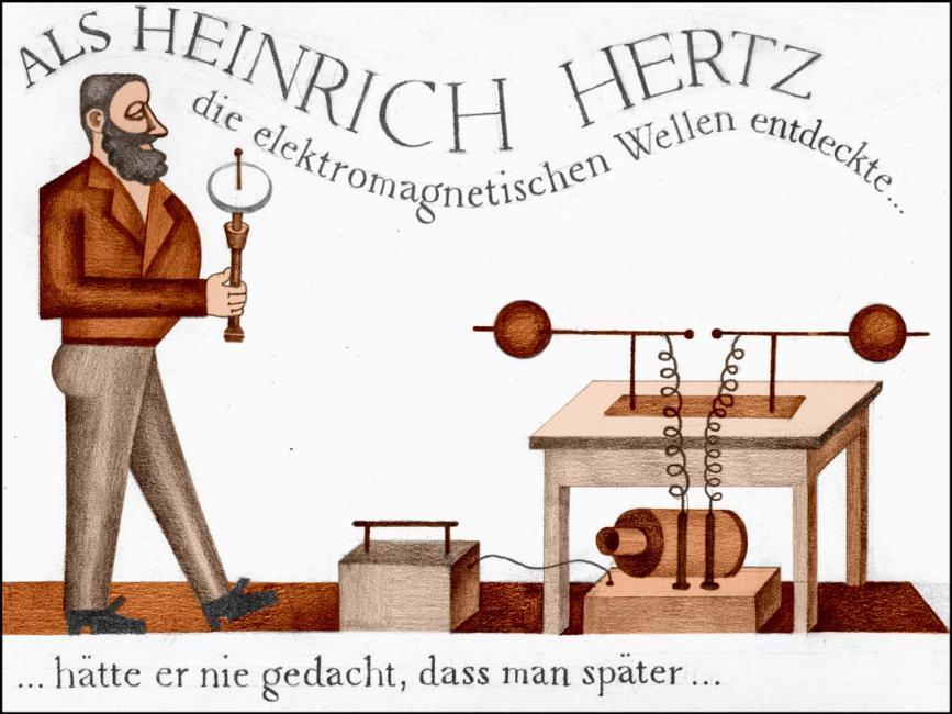 """Résultat de recherche d'images pour """"hertz electromagnetic waves"""""""