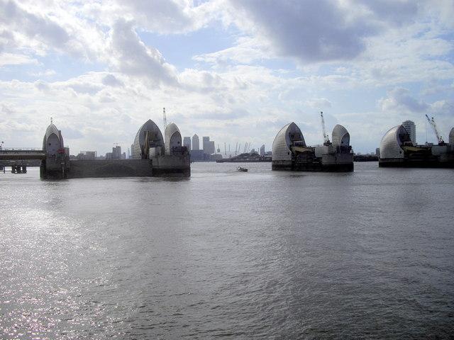 The Thames Barrier  London U0026 39 S Moveable Flood Defense