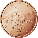 5 cent commemorative coin from Slovakia