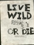 Live Wild or Die! no. 8