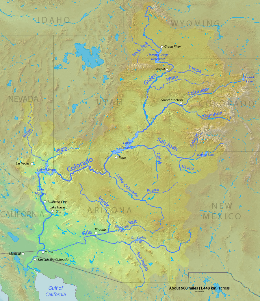 """Citizens of a Watershed"": The Colorado River Compact and ..."
